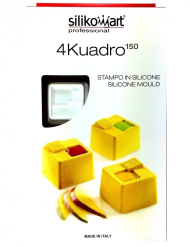 PLAQUE SILIKOMART - 8 CUBES...
