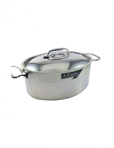 COCOTTE OVALE AFFINITY - INOX