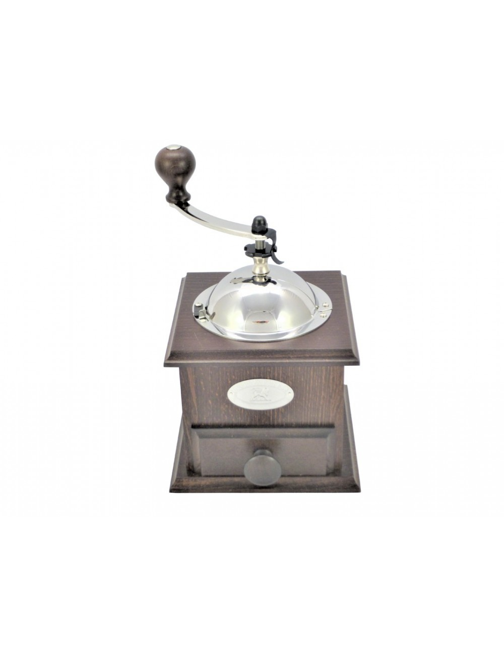 VARNISHED BEECH COFFEE MILL