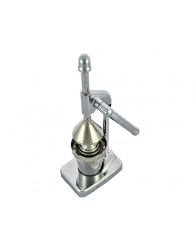 CHROME-PLATED CITRUS LEVER PRESS - SMALL MODEL