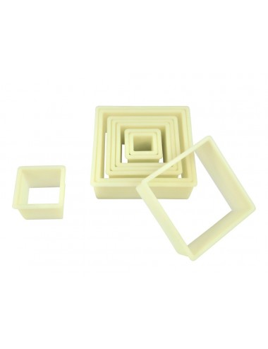 BOX OF 9 PLAIN SQUARE CUTTERS - POLYGLASS