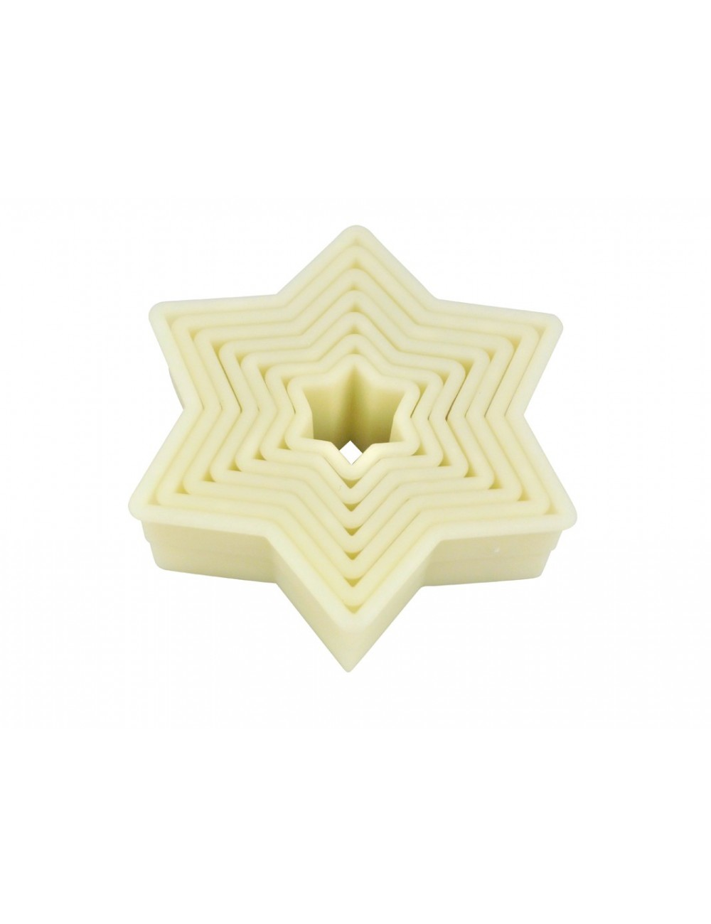 BOX OF 7 STAR CUTTERS - POLYGLASS