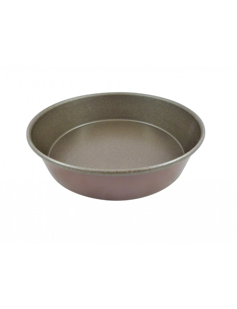 NON-STICK ROUND PLAIN LOOSE BASE MOULD