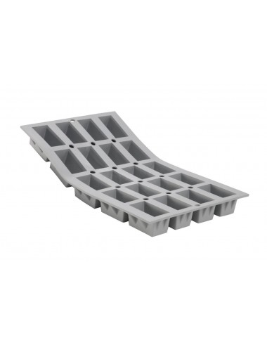 ELASTOMOULE 1/3 FLEXIBLE MOULD - 20 MINI-CAKES