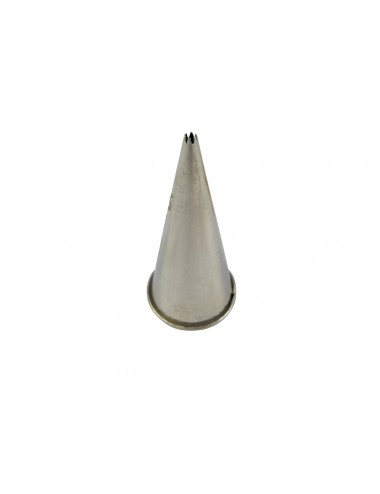 FLUTED NOZZLE A - STAINLESS STEEL