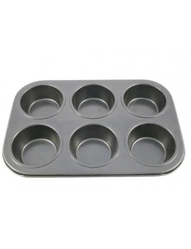 6 MUFFIN TIN - NON-STICK