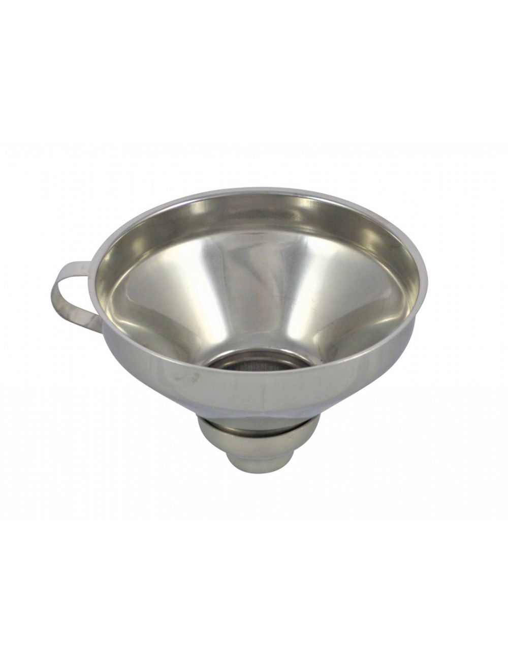 JAM FUNNEL WITH 2 TIPS - STAINLESS STEEL