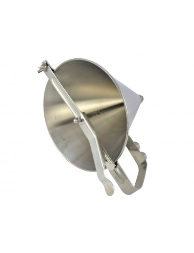 AUTOMATIC FONDANT FUNNEL WITHOUT FEET - STAINLESS STEEL
