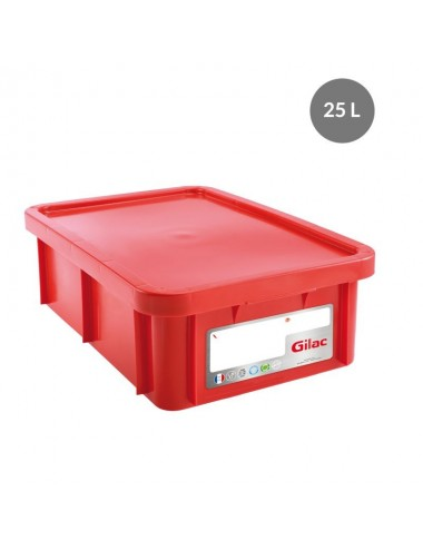 RECTANGULAR HACCP STORAGE CONTAINER - 25 L