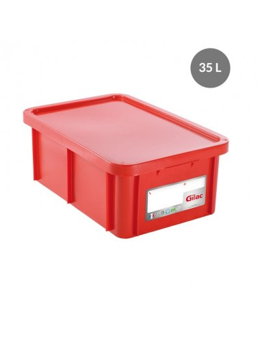 RECTANGULAR HACCP STORAGE CONTAINER - 35 L