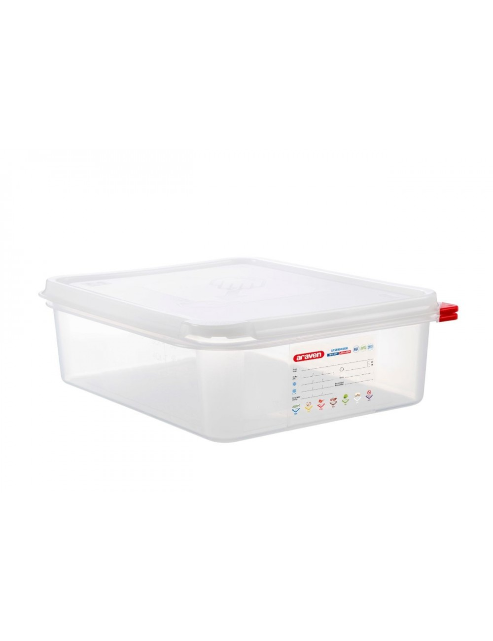 AIRTIGHT CONTAINER - GN 1/2 - Height 100 mm