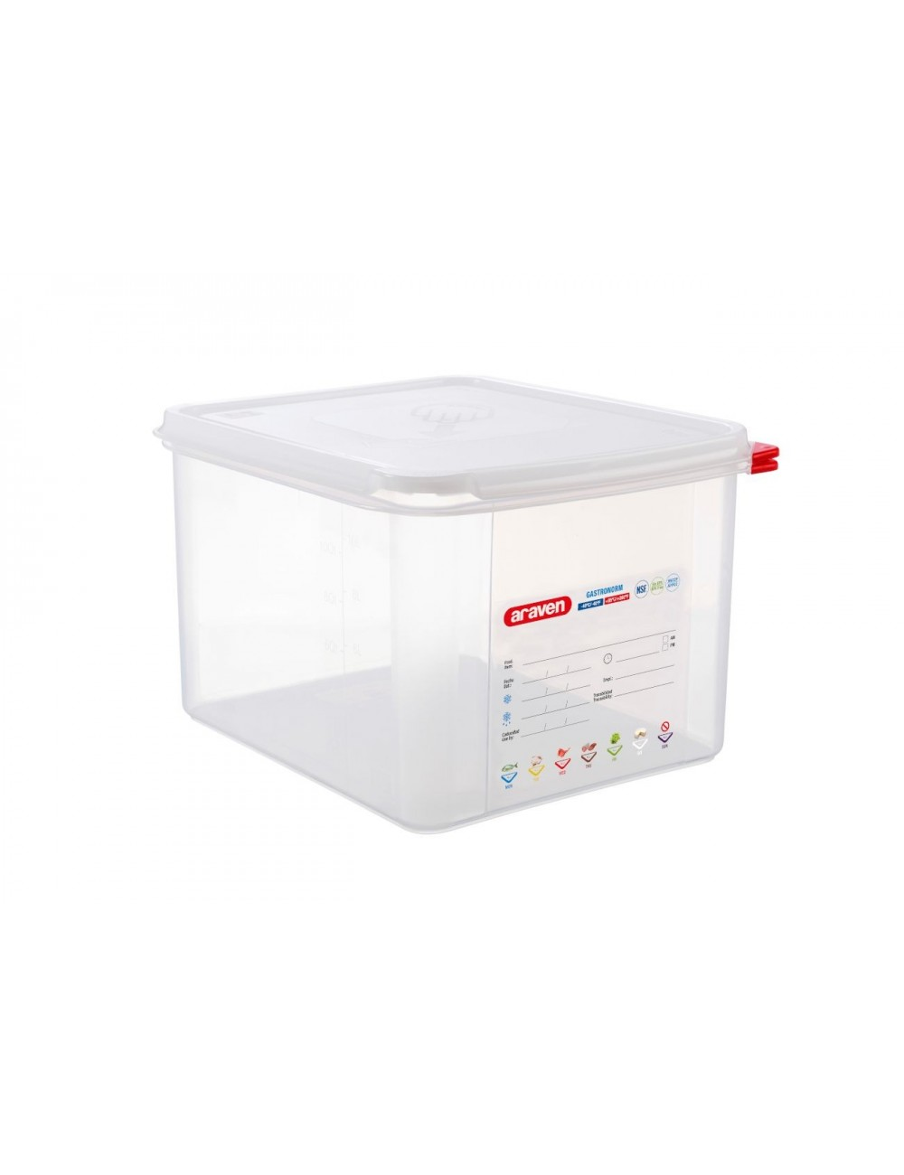 AIRTIGHT CONTAINER - GN 1/2 - Height 200 mm