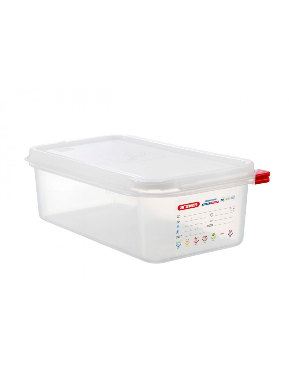 AIRTIGHT CONTAINER - GN 1/3 - Height 100 mm