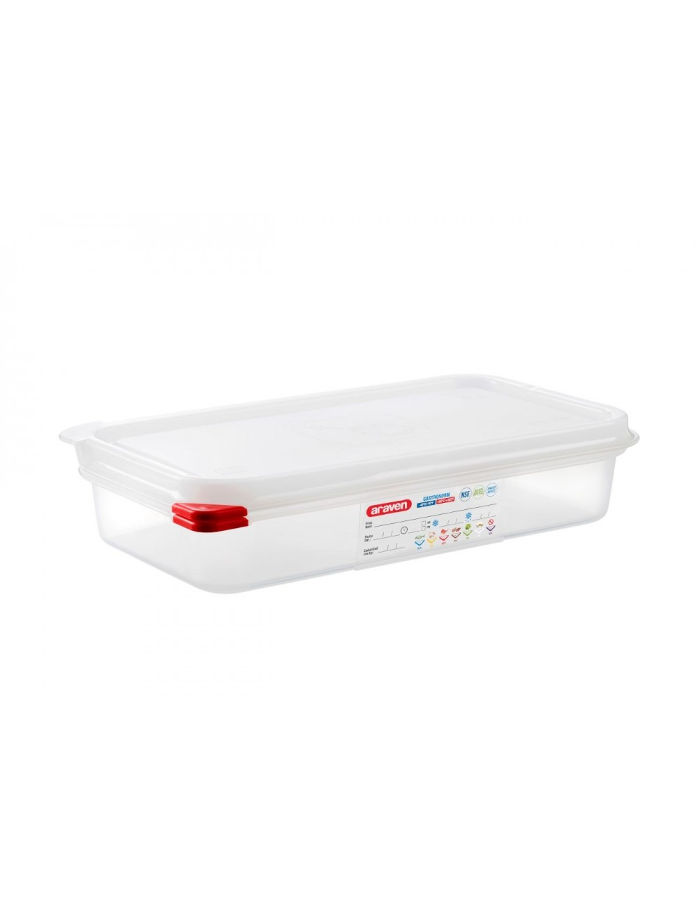 AIRTIGHT CONTAINER - GN 1/3 - Height 65 mm