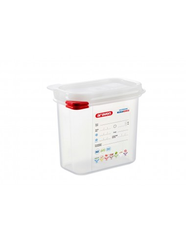 AIRTIGHT CONTAINER - GN 1/9 - Height 150 mm