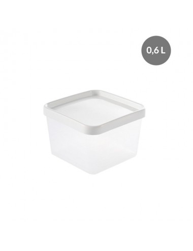 AIRTIGHT BOX WITH LID - 0,6 L