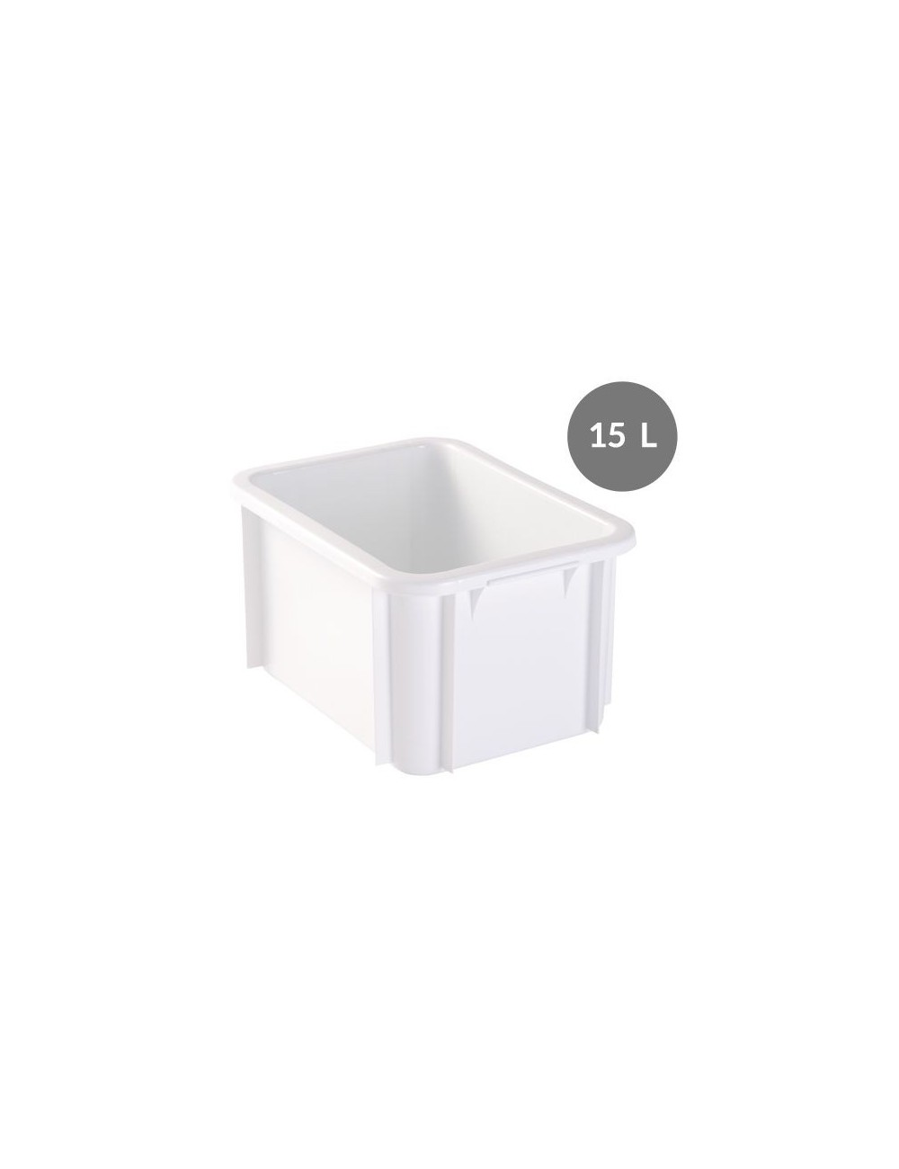 15 L RECTANGULAR CONTAINER