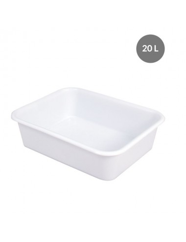 DEEP RECTANGULAR BASIN - 20 L