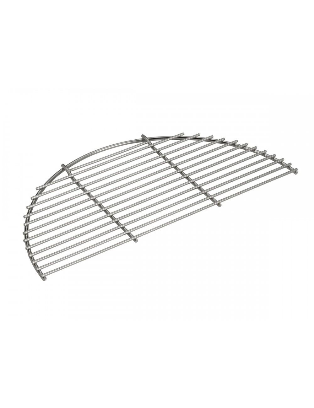 Demi-grille en acier inoxydable