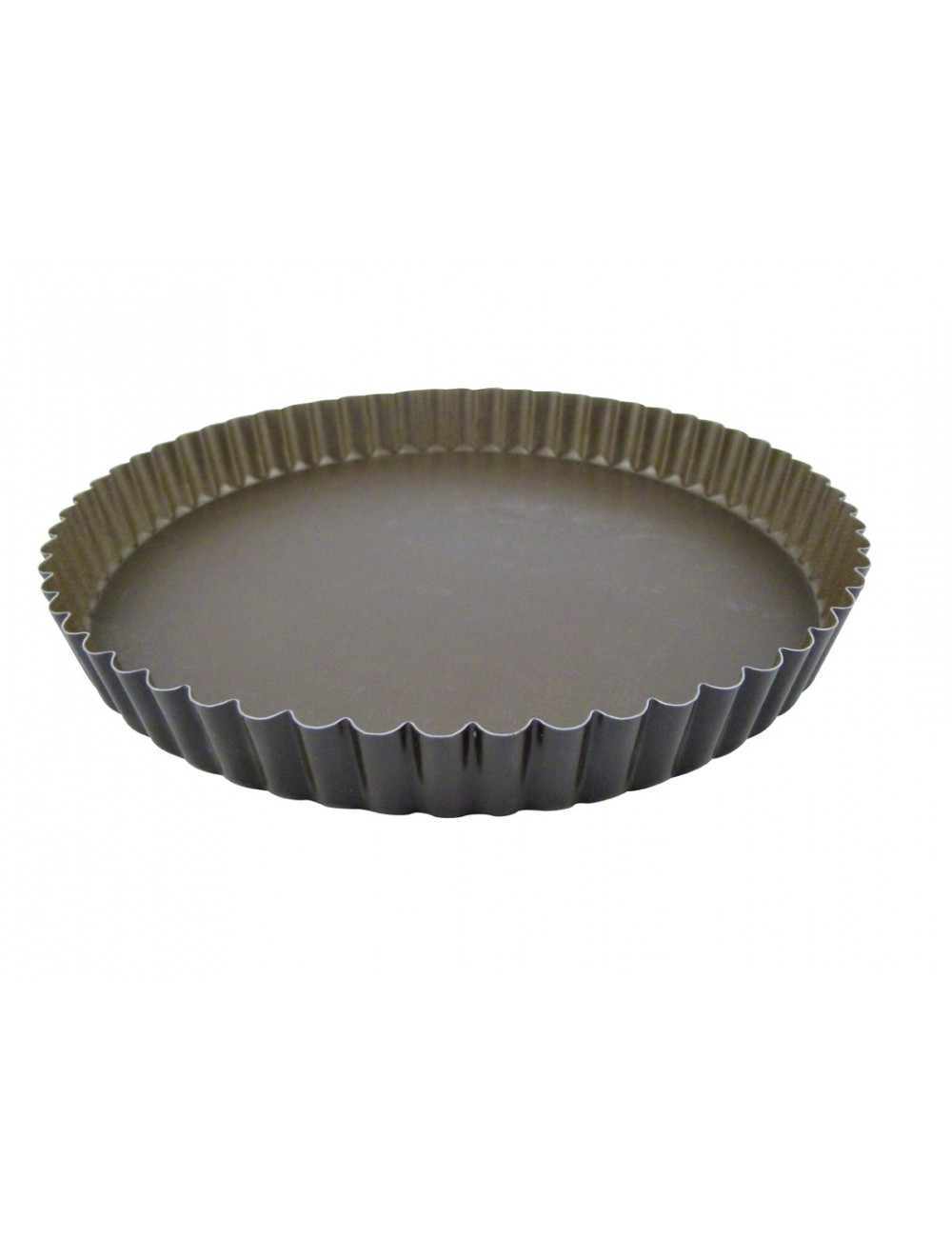 TOURTIERE RONDE CANNELEE - FOND MOBILE - ANTI-ADHERENT
