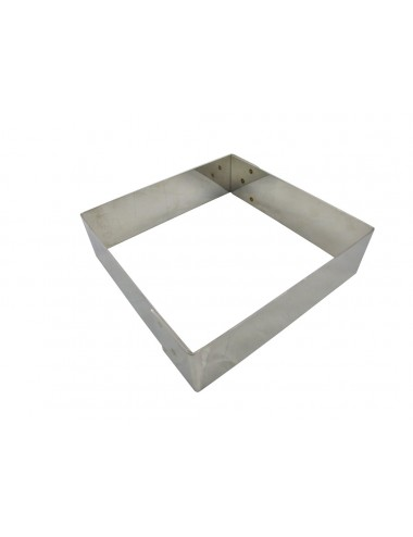 SQUARE MOUSSE FRAME - STAINLESS STEEL