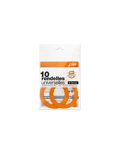 BAG OF 10 LE PARFAIT SUPER RUBBER SEALS - Ø 100MM
