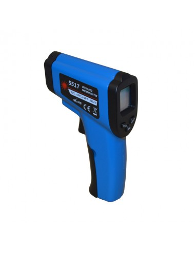 INFRARED THERMOMETER WITH LASER SIGHTING