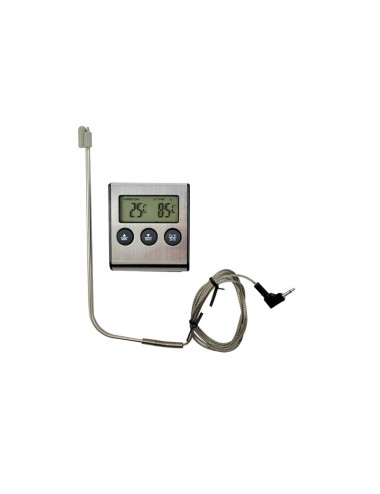 ELECTRONIC THERMOMETER AND WIRE PROBE FOR OVER COOKING