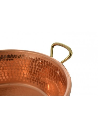 HAMMERED COPPER JAM PAN...