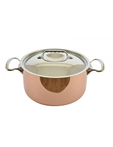 HOTPOT INDUCTION COPPER STAINLESS STEEL COVER