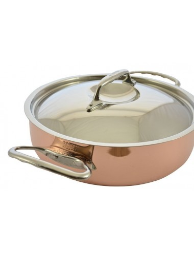 SAUTE PAN IN COPPER S/STEEL...