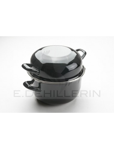 COCOTTE A MOULE EMAILLEE D180