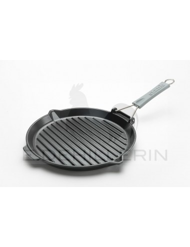 ROUND GRILL IN CAST IRON...
