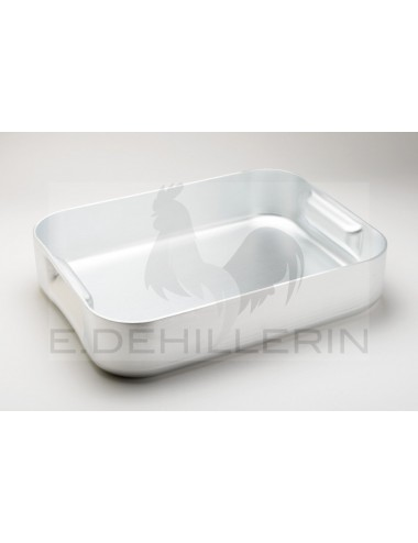 PLAQUE A ROTIR WITHOUT CARRY HANDLE ALU L40X30