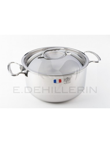 BASIN HAS HOTPOT WITH STAINLESS STEEL LID DIAMETER 24 - AFFINITY
