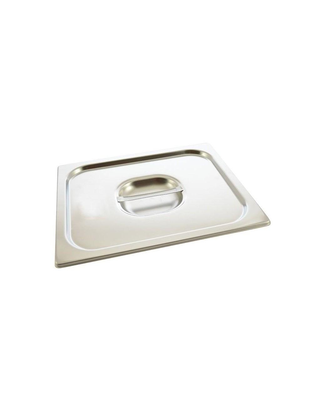 Couvercle inox pour bac gastro materiel de cuisson for Bac de cuisson inox