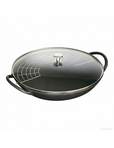 WOK IN CAST WITH LID D37