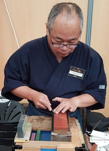 Upcoming! Japanese sharpening demonstration